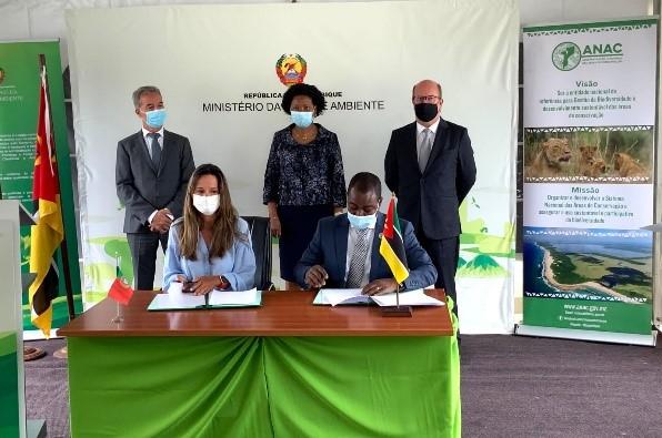 Visita do Ministro do Ambiente e da Ação Climática a Moçambique