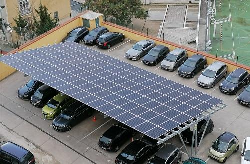 Instalação fotovoltaica produz até 25% de energia no edifício do Ministério do Ambiente e da Ação Climática